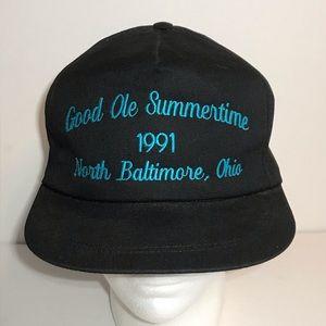 Vtg Good Ole Summertime Festival 1991 Snapback Hat